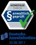 Anwaltlich geprueft - Deutsche Anwaltshotline