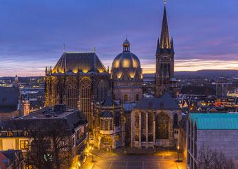 Stadtbild von Aachen*