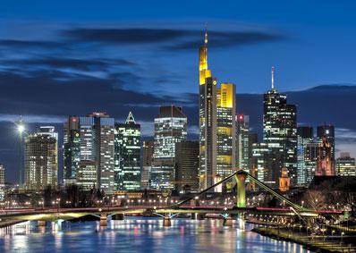 Stadtbild von Frankfurt*