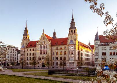 Stadtbild von Halle (Saale)*