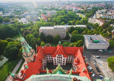 Stadtbild von Hannover*
