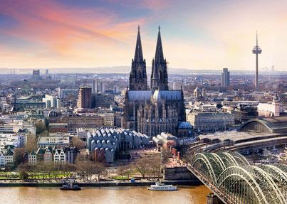 Stadtbild von Köln*