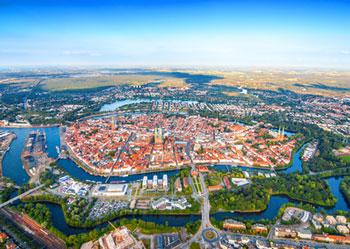 Stadtbild von Lübeck*