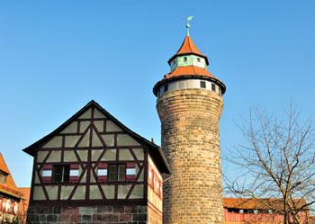Stadtbild von Nürnberg*