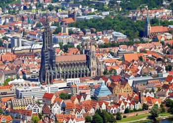 Stadtbild von Ulm*